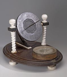 Russia. Universal Equatorial Sun-dial. Early 1710s-1720s. Hermitage Museum.