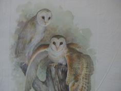 An amazing painting Owl, Bird, Amazing, Painting, Animals, Animais, Animales, Animaux, Owls