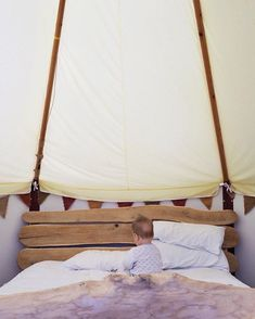 Camping or rather glamping with a teething sleep-thief was a little trying at times. But just look at that snuggly bug. Please join me in hoping he is better friends with his own bed for our big holiday in Italy this week.