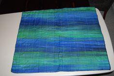 Back of my completed batik quilt