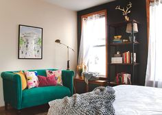 Before & After: A Graphic Designer's Parisian-inspired Retreat