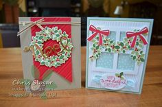 Wondrous Wreath Cards