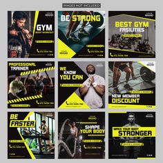 Gym fitness social media post Premium Vector Cultural marketing has become the buzz-phrase of your Social Marketing, Marketing Digital, Mobile Marketing, Marketing Strategies, Marketing Plan, Inbound Marketing, Business Marketing, Content Marketing, Internet Marketing