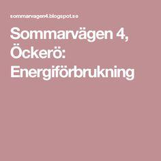 Sommarvägen 4, Öckerö: Energiförbrukning