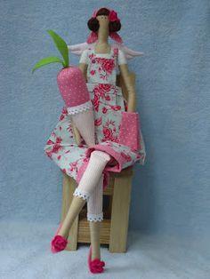 MC on creating dolls in style Tilda pattern & tutorial