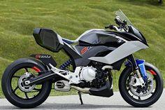 BMW Motorrad Concept 9cento side