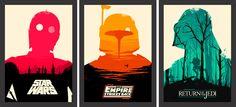 Trilogia clássica Star Wars - Filmes - Tcholos - A sua loja de quadros decorativos