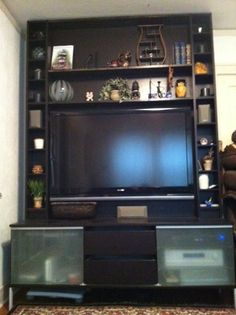 Our new entertainment unit will look like this