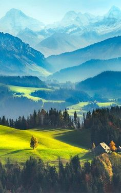 Switzerland landscape by Robin Halioua