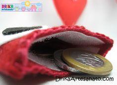 Artesanato passo a passo: porta moeda de corujinha com feltro