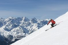 (PHOTO: Switzerland Tourism)  Top 10 ski resorts for thrill seekers:  Verbier, Switzerland (Verbier is the home of extreme skiing in the Alps and it's not hard to find backcountry terrain around the resort. Just take a cable car up the mountain and take a short hike and you're set to take on Europe's most famous off-piste stomach-churning runs. If you're interested in improving your skills the resort has the best clinic for expert skiers in Europe.)