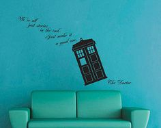 Amazing We Are All Stories   Doctor Who   Wall Decal Part 7