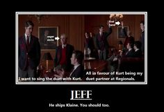 Find images and videos about glee, klaine and Jeff on We Heart It - the app to get lost in what you love. Chris Colfer, Darren Criss, If I Die Young, Glee Memes, Hurt Locker, Glee Club, I Movie, Just In Case