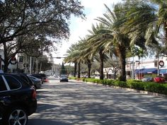 Miracle Mile in the Gables.