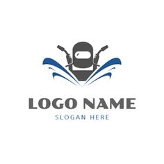 Welding Clothes and Welding Torch logo design Custom Logo Design, Custom Logos, Welding Logo, Online Logo, Logo Google, Logo Maker, Slogan, Welding Torch, Tattoo