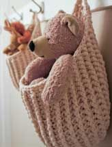 Awww these would be great for my daughter's room in the summerhouse. Hanging Storage Pouch