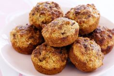 Start the day right with these wholesome apple and bran muffins, perfect for breakfast or a quick snack on the go!