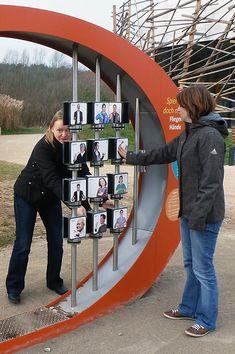 """Interaktives Exponat / Hands-On """"Drehpuzzle"""" bei der Umweltstation am Rothsee. Konzipiert und realisiert von Impuls-Design."""