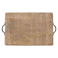 Rustic wooden serving board
