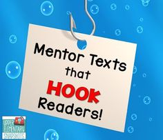 Teach your students to create strong leads in writing by studying mentor texts with strong leads! This blog post contains 10 great examples of strong leads taken from young adult books!