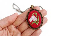 Simple Cross Stitch, Cross Stitch Embroidery, Cod, Baba Marta, Coin Purse, Gemstone Rings, Crochet Patterns, Manual, Opera