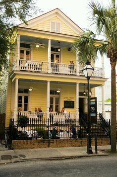 Charleston, SC Poogan's Porch--reports of hauntings. Poogan, a dog who once…