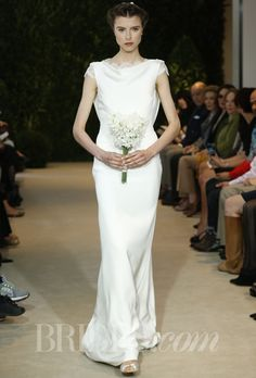 Spring 2014 Modern Wedding Dresses from Vera Wang, Monique Lhuillier, and More! | Brides