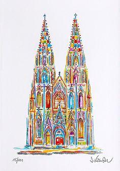Köln / Cologne - Kölner Dom / Cologne Cathedral von Jan Künster