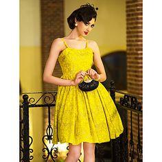Vintage Print Straps Swing Dress