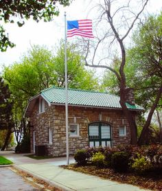 Strang Carriage House is a historical landmark in Overland Park located in Downtown Overland Park.   #northoverlandpark #downtownoverlandpark