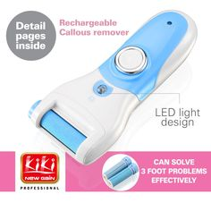 Find More Foot Care Tool Information about Rechargeable Callous Remover.support Universal Voltage.With led light.,High Quality removal machine,China removal program Suppliers, Cheap light valve from KIKI BEAUTY SALON SHOP on Aliexpress.com