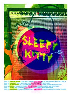 GigPosters.com - Sleepy Kitty