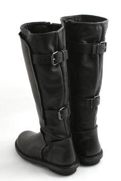 11b9b29ff Trippen shoes-boots-stivale in pelle lara black-leather boot lara .