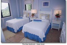 another blue and white ~ so cool & restful
