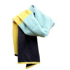 Brandon Knitted Lambswool Wrap Gabrielle Vary Knitwear www.gabriellevary.co.uk…