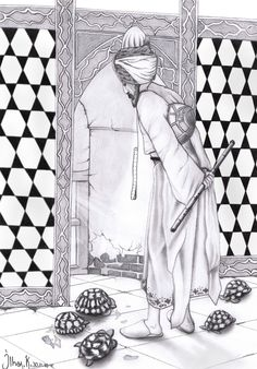 Charcoal Paint, Iranian Art, Coloring Pages, Doodles, Sketches, Watercolor, Embroidery, Drawings, Painting