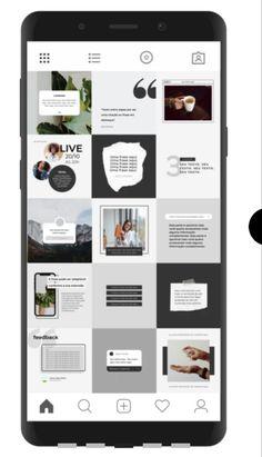 Instagram Grid, Instagram Design, Instagram Posts, Promo Flyer, Graphic Design Layouts, Busses, Social Media Design, Layout Inspiration, Bookstagram