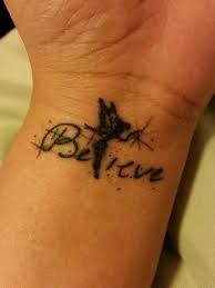Image result for tattoo fée clochette