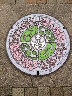 art design | street design | manhole cover | japan | col. 38