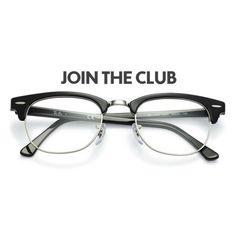 d33182afd8 Ray-Ban Clubmaster RX5154 Shiny Black 2000. Men and Women s prescription  eyeglasses.  15