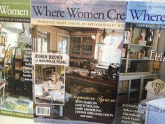Where Women Create Magazine  Stampington by VintageMarketPlace, $13.80