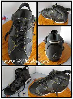 Zach's Jordan Shoe cake