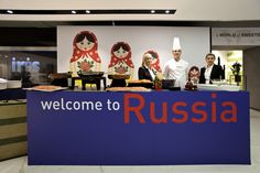 Gala dinner: travel around the world. Russia