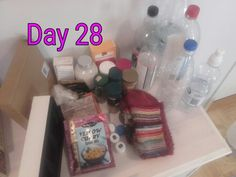 Apparently someone stores plastic bottles too. Me. Why on earth? Bye bye now #MinsGame Day 28.