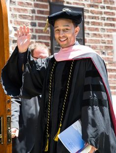 From now on, you can call him doctor Legend. GRAMMY winner John Legend receives an honorary Doctor of Music at his alma mater, the University of Pennsylvania, on May 19 in Philadelphia