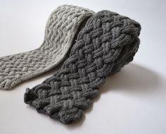 scarf patterns | Causey & Flagstone Scarves Knitting Pattern | Atlanta Institute of ...
