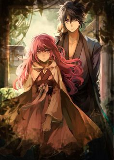 Hak and Yona Akatsuki no Yona (Yona of the Dawn)