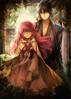 Hak and Yona Akatsuki no Yona (Yona of the Dawn)