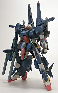 HGUC 1/144 ZZ Gundam II Custom Build - Gundam Kits Collection News and Reviews