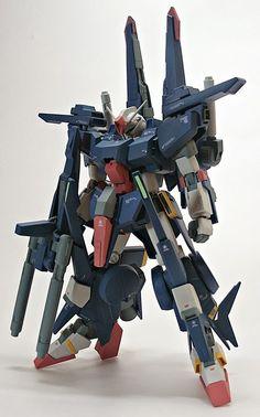 GUNDAM GUY: 1/144 ZZ Gundam II - Custom Build